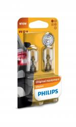 W16W 12V 16W W2,1x9,5d Vision Blister 2st. Philips