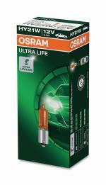 HY21W 12V 21W BAW9s Ultra Life OSRAM 1st.