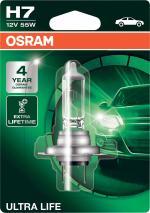 H7 12V 55W PX26d ULTRA LIFE 1st. Blister OSRAM