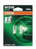 W5W 12V 5W Ultra LIFE  Blister 2st. OSRAM