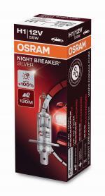 H1 12V 55W P14.5S NIGHT BREAKER® SILVER +100% 1 ...