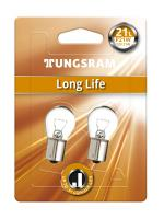P21W 12V 21W BA15s Long Life 2St. Blister Tungsram