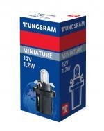 12V 1,2W B8,5d Original range 1St Tungsram