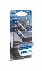 H6W 12V 6W BAX9s WhiteVision Ultra 2St. Philips