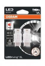 P27/7W LEDriving SL Red 12V Blister 2 St. OSRAM